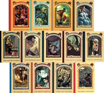 a series of unfortunate events complete 1 - 13 Book set PDF