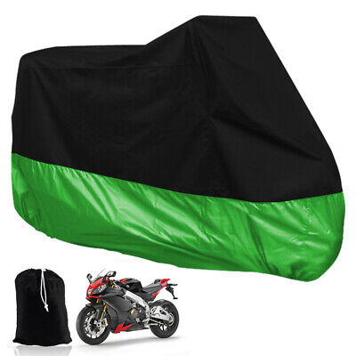 Motorcycle Waterproof Outdoor Bicycle Bike Scooter Dust UV Vented Rain Cover XL
