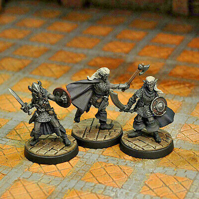 Otherworld Minis D/&D Minis AWESOME SET and NEW!! SET OF 3 FIRE BEETLES