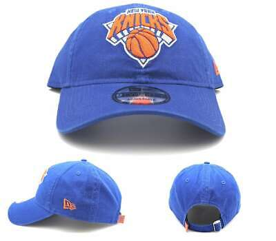 53a166e800663f New York Knicks NY New Era 9Twenty Blue Orange Clean Up Textured 47 Dad Hat  Cap