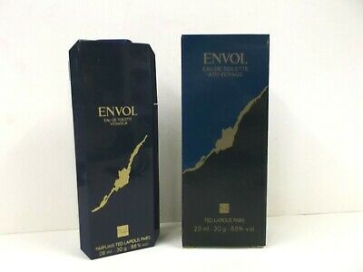 ENVOL Ted Lapidus edt atom 28 ml RARE ORIGINAL VINTAGE PERFUME (see description)