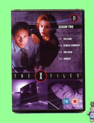 The X-Files 4 Episodes from Season 2 No11 DVD  New Sealed UK Region 2 PAL Scifi