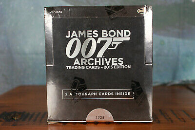 James Bond  007 Archives 2015 Edition sealed Trading Card Box