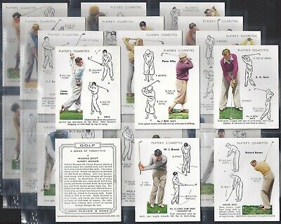 Players-Full Set- Golf (Uk Issue L25 Cards) - Exc