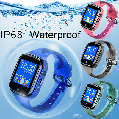 HOT Anti-lost Kids Safe GPS Tracker SOS Call GSM Smart Watch For IOS Android