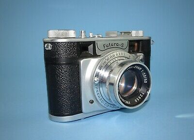 Rare Futura S rangefinder camera in excellent condition - full CLA service