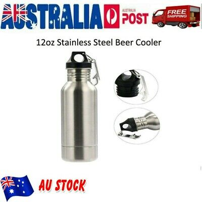Stainless Steel Beer Water Bottle Cooler Holder Keeper Cup Insulated Mug Hold AU