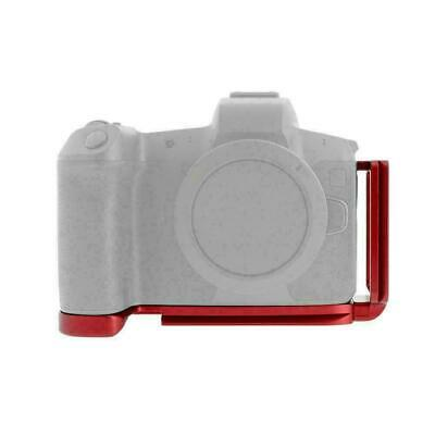 L-Shaped Metal Quick Release Plate Bracket Hand Grip for Canon EOS-R Mirrorless