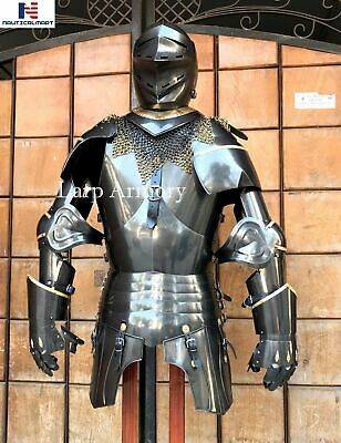 Medieval Times Knight Suit of Armour Costume Wearable Halloween Costume