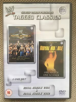 WWF WWE Royal Rumble 2001 01 & Royal Rumble 2002 02 Tagged Classics DVD