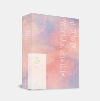 BTS World Tour Love Yourself Seoul DVD Photo Book Card Poster Gift SEOUL