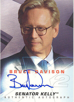 "X-Men 2, United - Bruce Davison as ""Senator Kelly"" Auto/Autograph"