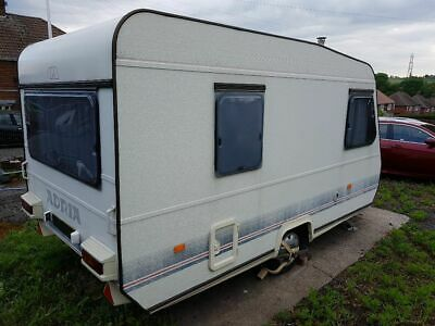 Adria four berth touring caravan