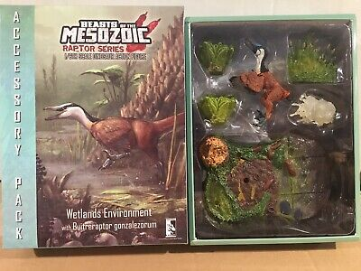 Beasts of the Mesozoic WETLANDS ENVIRONMENT Accessory Pack 01 Raptor Series MIB