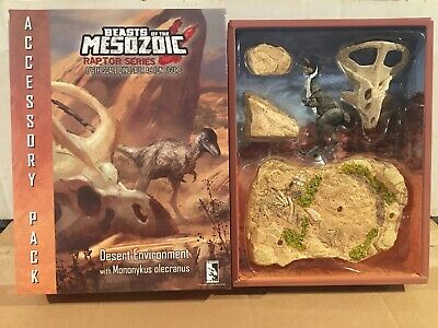 Beasts of the Mesozoic DESERT ENVIRONMENT Accessory Pack 02 Mononykus Olecranus