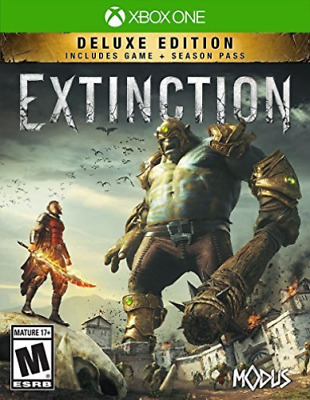 Xone Adventure-Extinction Deluxe Edition(Includes 3 Dlc Mission Packs) Xb1 New