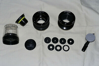 Lensbaby Composer Pro + Muse Double Glass Optics Canon Ef Lot