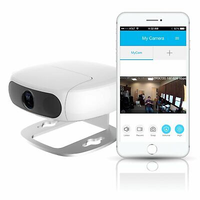 Tofucam by Pyle - 2 Mega Pixel FULL HD 1080P in Home Wireless IP Camera, WiFi