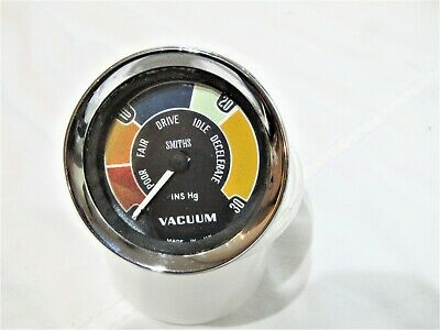 Classic Smiths Vacuum Gauge Fits Ford Mini Mk1 Lotus Tvr Austin