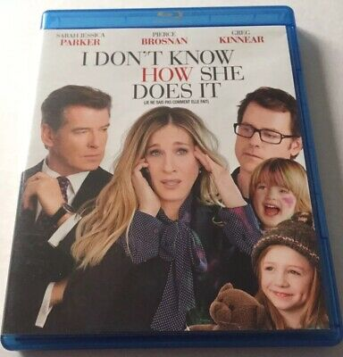 I Dont Know How She Does It (Bluray, 2012) Canadian