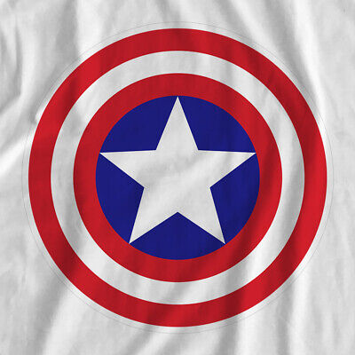Superhero Logos | Captain America | Iron On T-Shirt Transfer Print