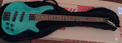 80S WASHBURN FORCE ABT- B20 Active Electric Bass Guitar. Crackle Finish  Gree - £149.99 | PicClick UK