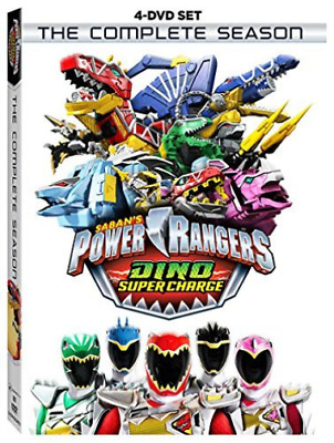 Power Rangers Dino Super Ch...-Power Rangers Dino Super Charge: Complete Dvd New