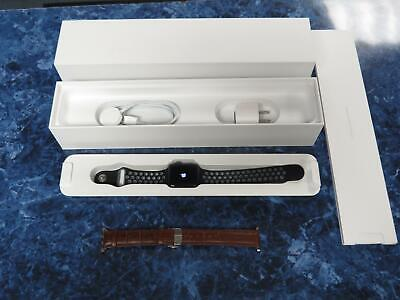 Apple Watch series 2 38mm Aluminum case with Nike sports and leather bands-WOW!