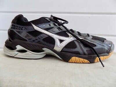 ac2d5ea9cb5b MIZUNO WOMEN'S WAVE Bolt 6 Volleyball-Shoes, Black/Silver, 7.5 B US ...