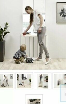 Babydan Room Divider -'Guard Me'-Adaptable! -white Toddler Safety Gate £45 NEW!!