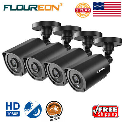 FLOUREON 1080P HD 5XZOOM Wifi Wireless Security IP Camera