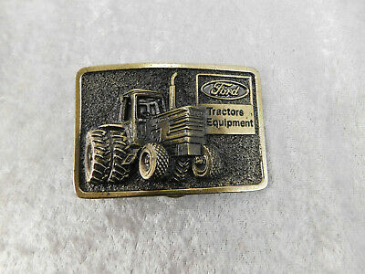 Vintage Farm Ford Equipment Tractor Belt Buckle Great Belt Buckle co