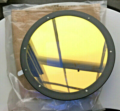 Dichroic filter - 26cm diameter - corrects 'tungsten' light to daylight colour.
