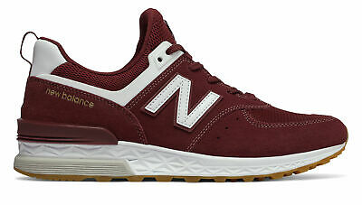 CHAUSSURES NEW BALANCE Homme MS574, Sneakers RougeVertNoir