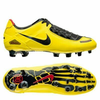 3d3c5d0ca798 Nike Total 90 Laser 1 FG Remake Football Boots Yellow Black T90 UK 9 US 10