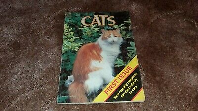 Cats Magazine Ultra Rare Pre Pushlished #1 First Edition With Editors Notes