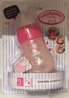 Rare BN Baby Annabell Colour Changing Bottle For Dolls Up To 46cm/18""