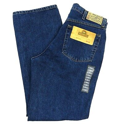 Bass Pro RedHead Boot Cut 5 Pocket Zip Fly Relaxed Fit Denim Jeans Men's W36 L32