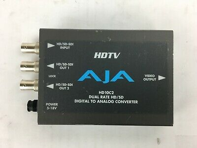 AJA  HD10C2, Digital To Analog Converter DUAL RATE HD / SD HDTV