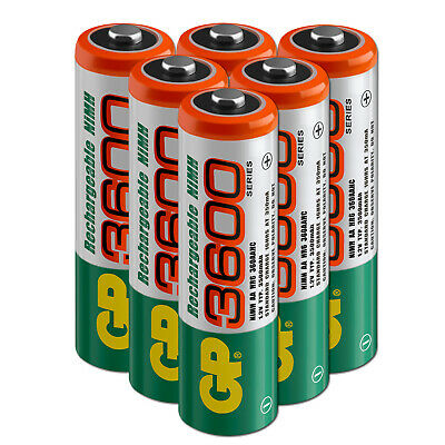 4-20 Pack Lot of AA AAA Batteries 3600mAh 1100mAh Rechargeable NiMH Battery+Case