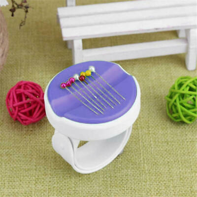 Magnetic Pin Cushion Sewing Storage Wrist Clip Screw Knitting Needle Box New