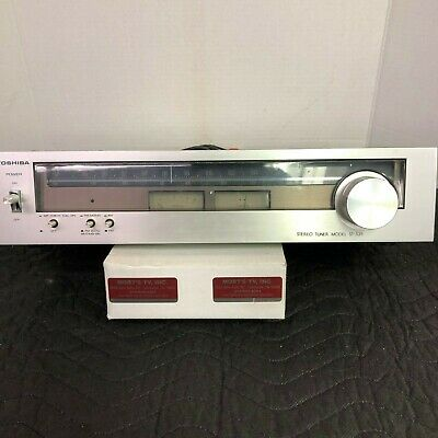 Toshiba St-335 Am/Fm Stereo Tuner - Serviced - Cleaned - Tested