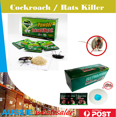 Au Cockroach /  Rat Killing Bait Powder Poison Powder Pest Contronl
