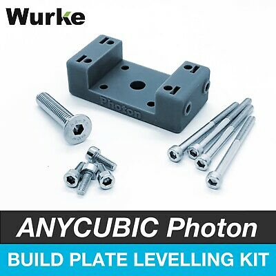 Build Plate Platform Levelling Kit Upgrade for Anycubic Photon & Photon S