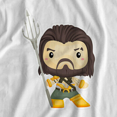 Little Superheroes | Aquaman | Iron On T-Shirt Transfer Print