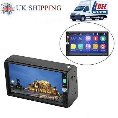 """7""""inch Double Din Car HD MP5 Player+HD Camera Bluetooth Stereo Radio Mirror Link"""