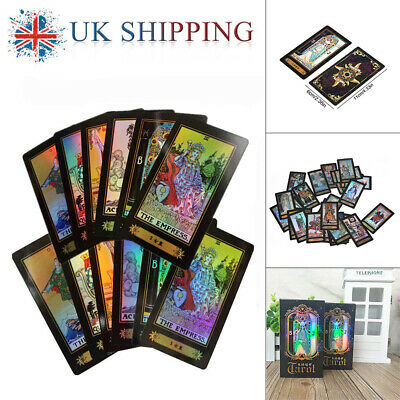 78 Cards Waite Rider Tarot Deck Set Future Telling Sealed Boxed Chinese+English