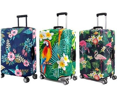 Periea Protective Suitcase Luggage Cover (Elasticated) - 38 Designs - 3 Sizes