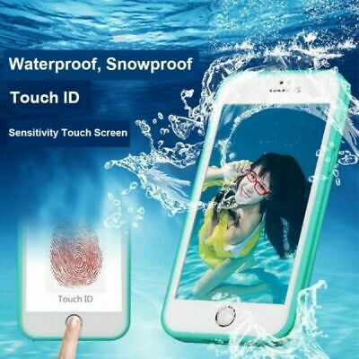 New Waterproof Shockproof Hybrid Rubber Case Cover For iPhone 5se 6s 7 8P SPBST
