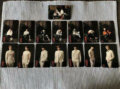 MONSTA X ALLIGATOR official photocard 15 complete full set